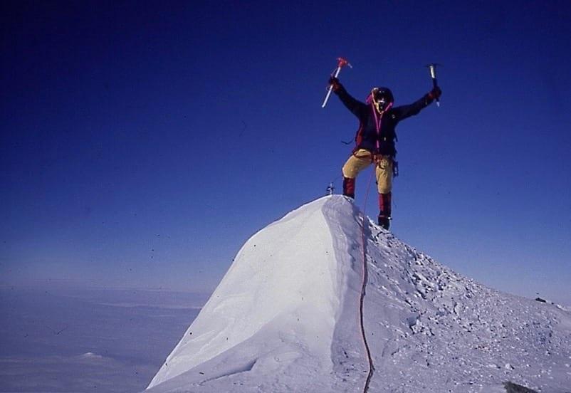 Neil Laughton at Vinson Summit