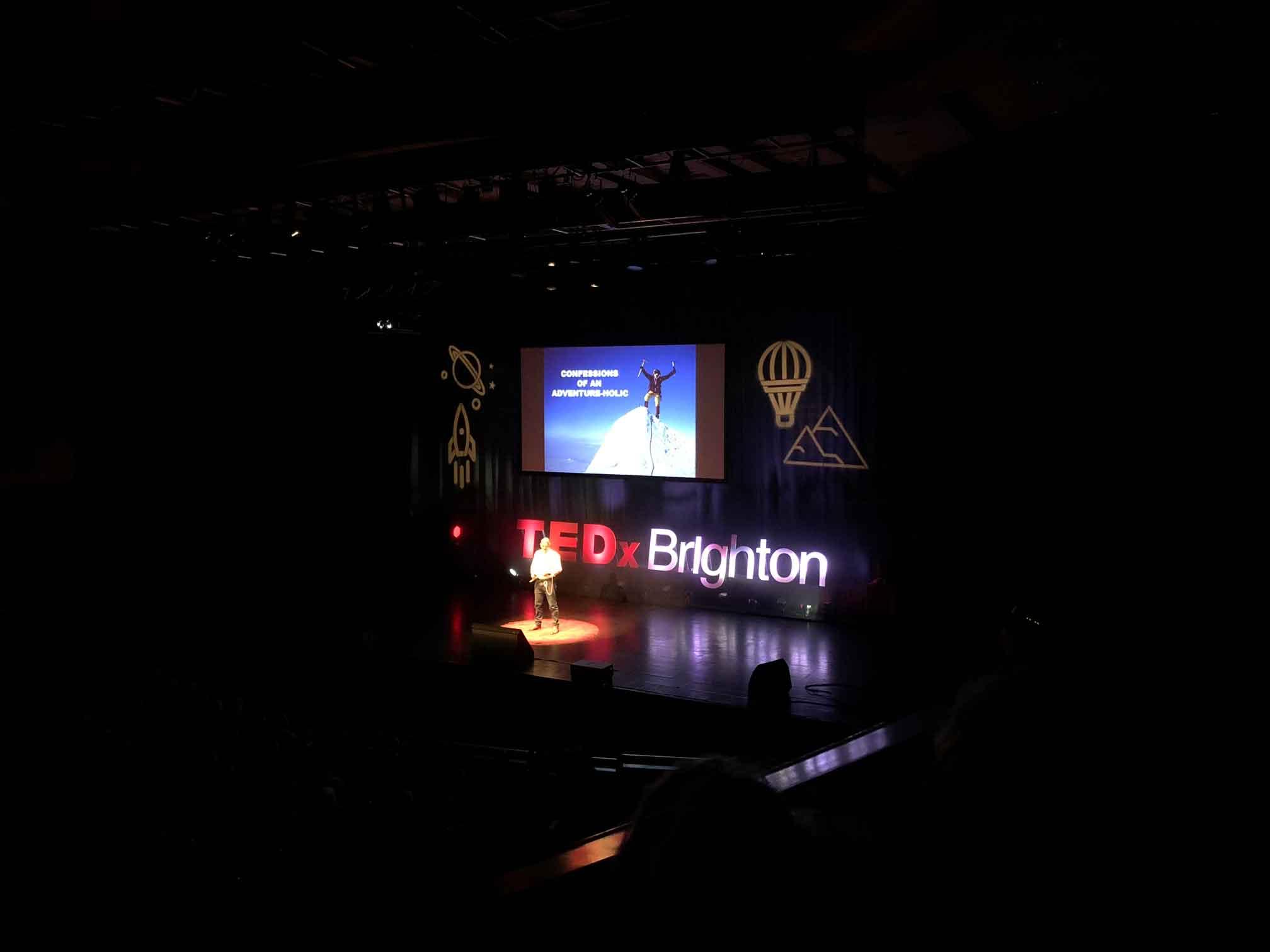 Neil Laughton Speaking at Tedx Brighton