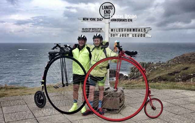 Lands End to John O'Groats on a Penny Farthing